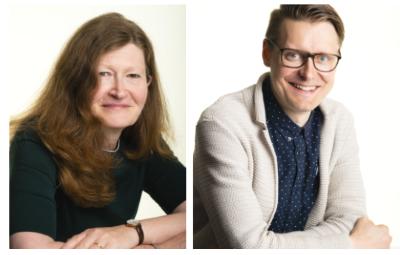 Kaarina Tamminiemi ja Jussi Ahokas