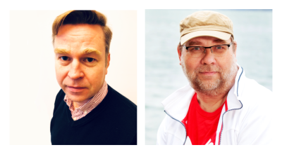 Rintakuvissa Sami Teikko ja Ari Inkinen
