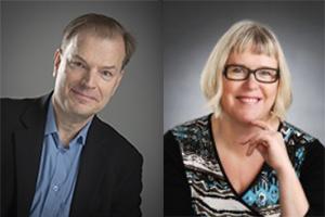 Rintakuvissa Yrmy Ikonen ja Kirsi Mäki.