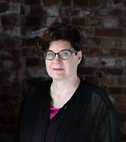 Blogikirjoittaja Marion Fields henkilökuva.