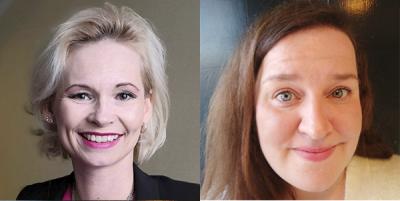 Kasvokuvissa Suvi Laru ja Riina Nissinen.